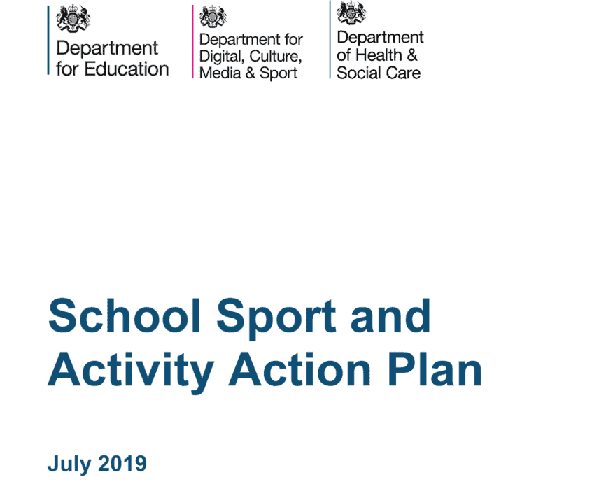 School Sport and Activity Plan - July 2019